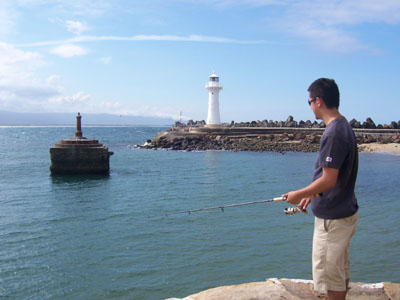 Fishing in Wollongong